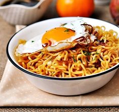 [15 Ways to Spice Up Ramen] YES! I love the idea of spicing up Ramen to make it a meal.