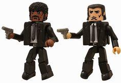 Bem Legaus!: Bonequinhos de Pulp Fiction