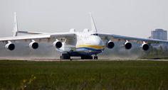 Antonov An-225, o maior avião do mundo, voltará a ser produzido.