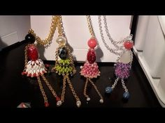 Tutorial Campanelle Superduo - Beaded Bells Superduo - YouTube