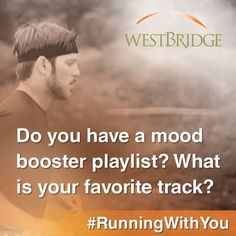 What song always puts you in a better mood? Extra points if you share a link to that song! #RunningWithYou