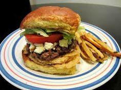 Red Robin Restaurant Copycat Recipes: Bleu Ribbon Burger