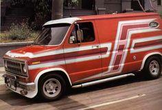 Vanner Inc . Customised Vans, Custom Vans, Ford Custom Van, Chevy Conversion Van, Old School Vans, Vanz, Van Car, Day Van, Chevy Van