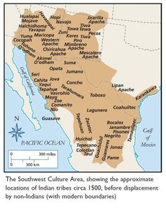 Southwest Amerindians before illegal immigration by whites and Mexicans. Native American Map, European American, American Indians, Mexican American, American Symbols, European History, American Women, American Art, Indian Tribes