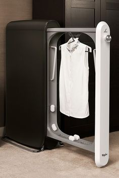 Bloomingdale's will start to sell a home dry cleaning machine called Swash Express Clothing Care System...x