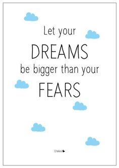 dreams and fears   Elske