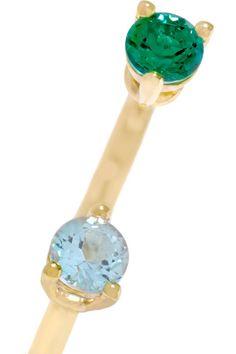 Delfina Delettrez - 9-karat Gold Topaz Ring - 2 1/2