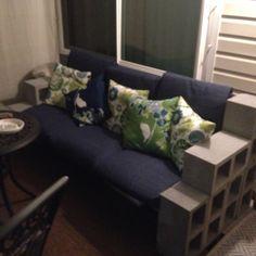 DIY Patio Furniture on a Budget Sofa, Couch, Diy Patio, Outdoor Fun, Home Improvement, Budget, Furniture, Home Decor, Handarbeit