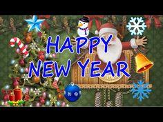 ☃ Un an nou fericit - Felicitare de anul nou ☃ - YouTube An Nou Fericit, Dec 30, Happy New Year, Christmas Bulbs, Make It Yourself, Holiday Decor, Youtube, Christmas Light Bulbs, Happy New Year Wishes