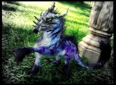 Sold Poseable Dragon Horse. (One of the first creations!)