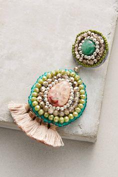 Slide View: 2: Dorien Drop Earrings