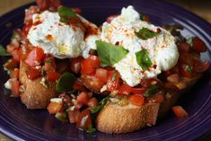 Bruschetta Benedict Recipe by Macheesmo