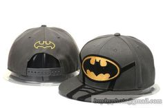 Cheap Wholesale Men's Batman Snapback Hats Cartoon Hats Gray for slae at US$8.90 #snapbackhats #snapbacks #hiphop #popular #hiphocap #sportscaps #fashioncaps #baseballcap
