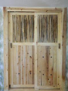 Saguaro Cactus Rib Cabinet or Closet Doors by DesertGallery, $150.00