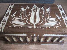 Handmade JEWELRY Wood Secret Magic Box Puzzle NWT by kalotart