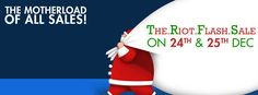 The Flash sale by Riot   #Client #ClientWork #Clientele #WorkPortfolio #Clothing #WomenFashion #Fashion #Lifestyle #MenFashion #Christmas #Sale #Promotion #DigitalAdvertising #SocialMedia #DigitalMedia #Digital #DigitalMarketing #Design #Agency #AdAgency #AgencyLife #AgencyWork #3WM #Mumbai #India Competitor Analysis, Sale Promotion, All Sale, Design Agency, The Flash, Digital Media, Christmas Sale, Mumbai, Digital Marketing