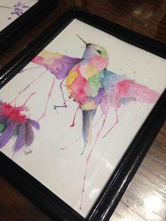 amo los colibries