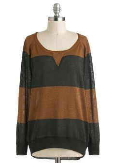 Night and dazzel sweater.  Pretty colors and looks comfortable too!