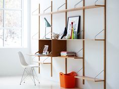 Beautiful reproductions of Cadovius' 1948 Royal System modular shelving are now available. We take a close look at this classic midcentury modern shelving -- being made again today in Denmark -- and for sale in the U.S. at Design Within Reach.