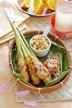 Bali. Food. Sate Lilit Bali / Balinese Satay Lilit