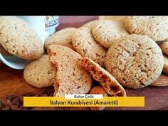 How to make Italian Cookie (Amaretti)? Check out the Italian Cookie (Amaretti) ingredients and recipe that you can try with a Slice of Taste difference, illustrated and trusted . Italian Cookies, Biscotti, Food And Drink, Sweets, Bread, Cake, Desserts, Recipes, Youtube