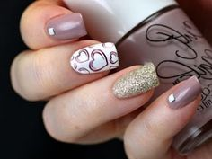 Nail Designs That are Decorated: Photos Trend 2017 Nails 2017, Nail Designs, Beauty, Decor, Nail Desings, Beleza, Decoration, Decorating, Nail Design