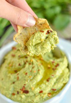 Healthy Avocado Hummus | nourishedtheblog.com | 6