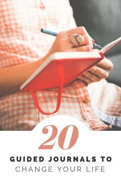 Into journaling? Check out these 20 guided journal experiences to change your life and spice up your journalling life!
