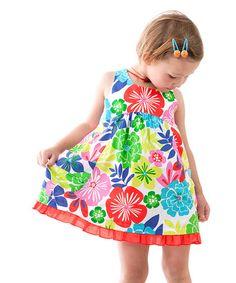 Look at this #zulilyfind! Daisy Fun Dress - Infant, Toddler & Girls #zulilyfinds