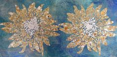 Flowers of Light in Gold Leaf