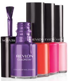 love these colors from Revlon Colorstay perfect for an Easter design or just buy themselves for the summer