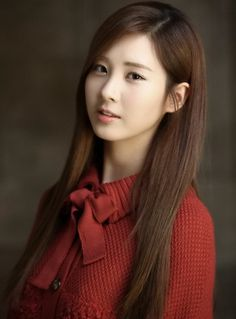 Seohyun (Seo Joo Hyun)  D.O.B: 28/06/1991    She is a member of a South Korean girl group named Girls' Generation (a.k.a SNSD).  She has an attractive appearance and a good personality. She can sing very well and she's one of the main vocalists of SNSD. She's very smart as she's a real book worm. She's also a very polite person.  She's very feminine and caring. She also has a pure soul. However, she's much more thoughtful than people at her age. She's also a person of principles.
