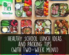 Great ideas for packing your kids healthy school lunches (even if you're a homeschooling family like us!) in eco-friendly food storage!