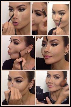 The Best Natural Makeup Tips – LovelYou Makeup 101, Makeup Inspo, Makeup Inspiration, Makeup Looks, Makeup Tricks, Makeup Products, Nose Makeup, Contour Makeup, Beauty Make-up