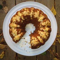 L'automne s'installe doucement... Un cake à la courge, ça vous tente? Merci @carosou pour cette belle photo! #recipeoftheday #recipe #fall #cake #courge #repost #regram