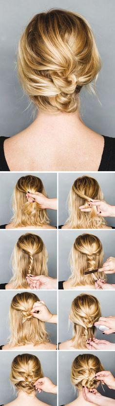 7 tutos coiffures glamour que tu ne connaissais pas