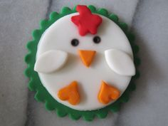 Farm Animals Cupcake Toppers. $18.00, via Etsy.