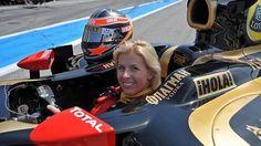 Meet Maria de Villota, Formula One's New Female Test Driver Female Race Car Driver, Car And Driver, Formula 1, Marussia F1, F1 Crash, Melbourne, Women Drivers, The Sporting Life, Lotus Car