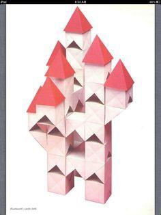Zen Origami: How to Make a Bluebeard's Castle - Ed Sullivan - Multi-piece Model