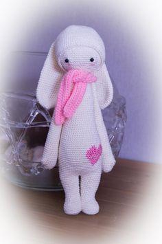 RITA the rabbit made by Inge H. / crochet pattern by lalylala