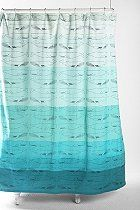 Whales Shower Curtain $39