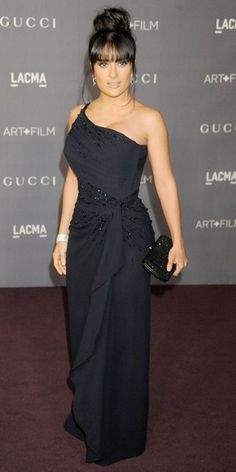 I LOVE her dress!!! ...SALMA HAYEK