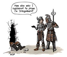 Skyrim - Shout it all out! by TomPreston on deviantART
