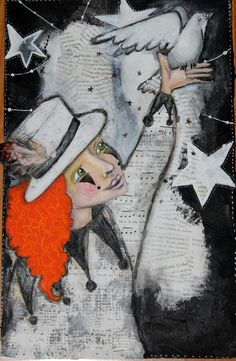 "Mixedmedia picture ""Magical"""