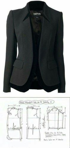 Pattern: Tom Ford Blazer