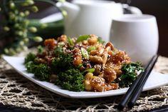 Sweet and Sour Crispy Mock Chicken Stir Fry - Vegan