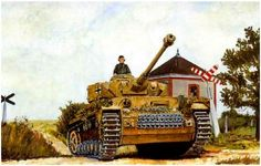 Panzer IV Ausf. H, Normandia 1944