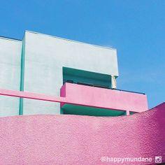 #postmodern #mint #pink #losangeles #miami photo by happymundane on Instagram