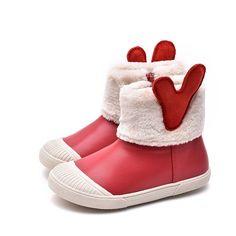 Bottes de No/ël pour b/éb/é dhiver Unisexe Gar/çons Filles Chaussures de No/ël Cadeau de No/ël pour les petits enfants