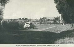 Hospital in the distance